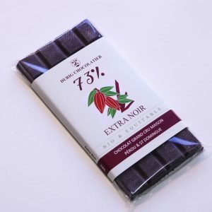 Extra dark organic and fair chocolate 73%