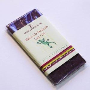 Durig Chocolatier - Chocolat bio et équitable épicé à la mexicain