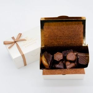Durig Chocolatier Lausanne - 125g Box of organic and fair chocolates
