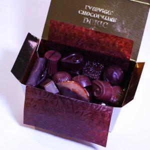 Boîte cadeau de chocolats - Ouchy, 250g