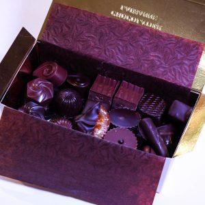 Boîte cadeau de chocolats - Ouchy, 375g