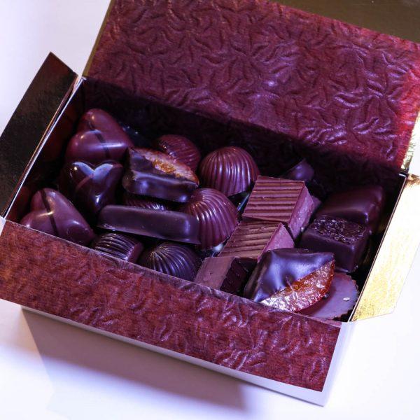 Boîte cadeau de chocolats - Ouchy, 500g