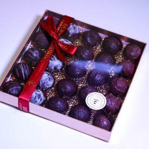 Durig Chocolatier Lausanne - Boite de 25 truffes au chocolat bio