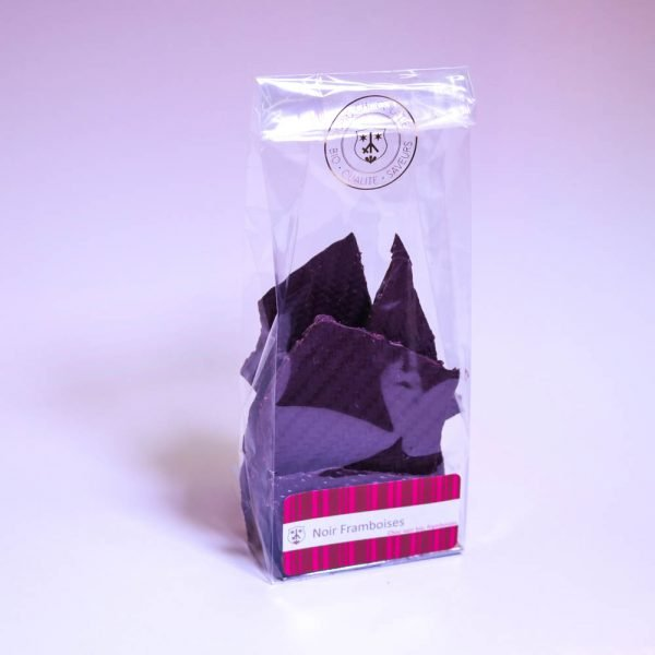 Framboise: Chocolat noir 68%, bio & équitable