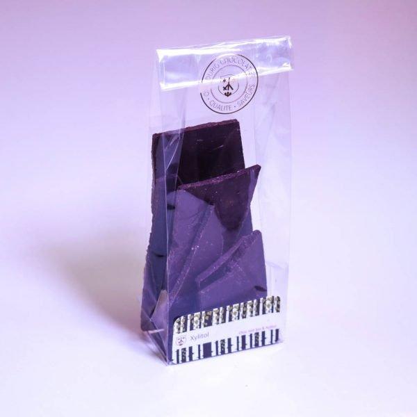 Xylitol: Chocolat noir 78%, bio & équitable