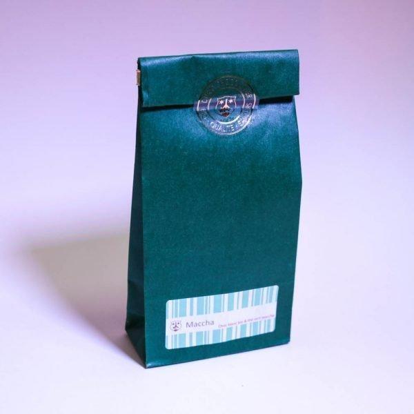 Maccha: Chocolat blanc Bio & équitable