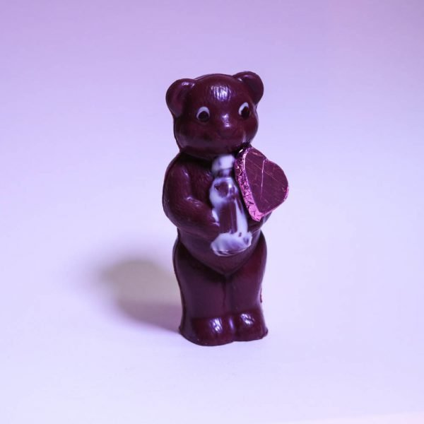 Durig Chocolatier Lausanne - Organic and fair chocolate animal - Baby bear