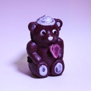 Durig Chocolatier Lausanne - Organic and fair chocolate animal - Bear with cap