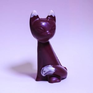 Durig Chocolatier Lausanne - Organic and fair chocolate animal - Siamese cat