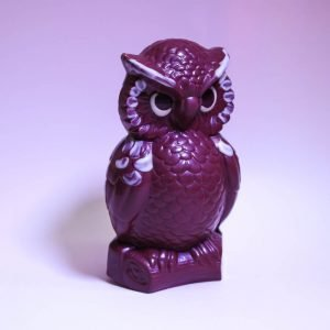 Durig Chocolatier Lausanne - Organic and fair chocolate animal - Owl