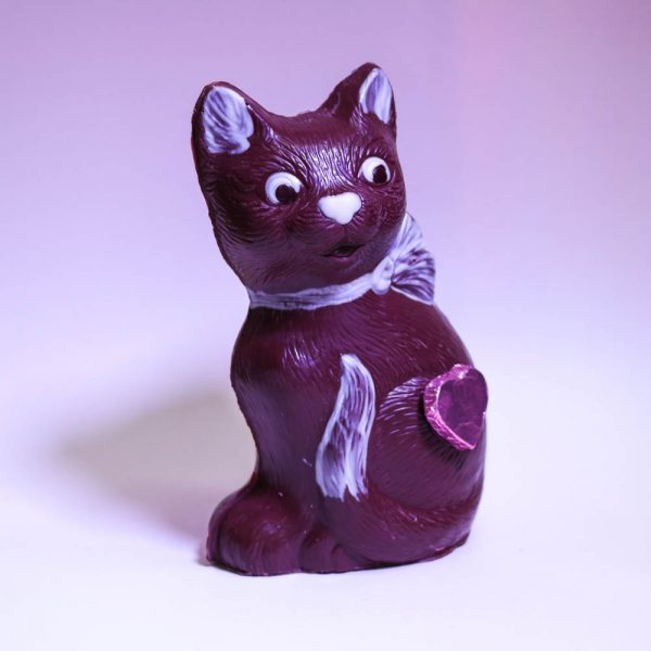 Durig Chocolatier Lausanne - Organic and fair chocolate animal - Pussy cat