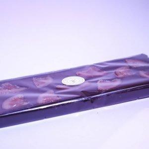 Durig Chocolatier Lausanne: Tablette géante – Chocolat noir et oranges