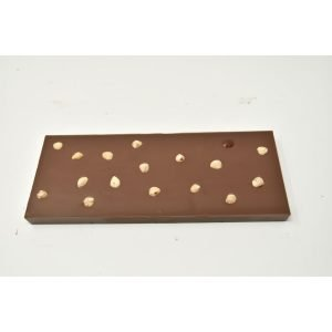Durig Chocolatier Lausanne - Giant organic dark chocoalte bar with hazelnuts