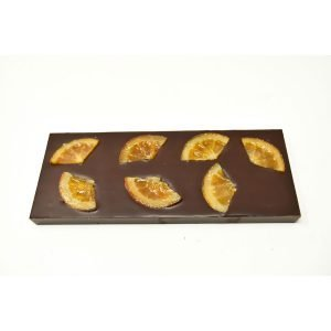 Durig Chocolatier Lausanne - Giant organic orange chocolate bar