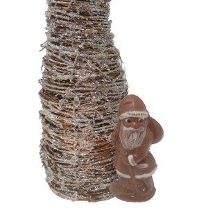 small organic fair swiss chocolate santa