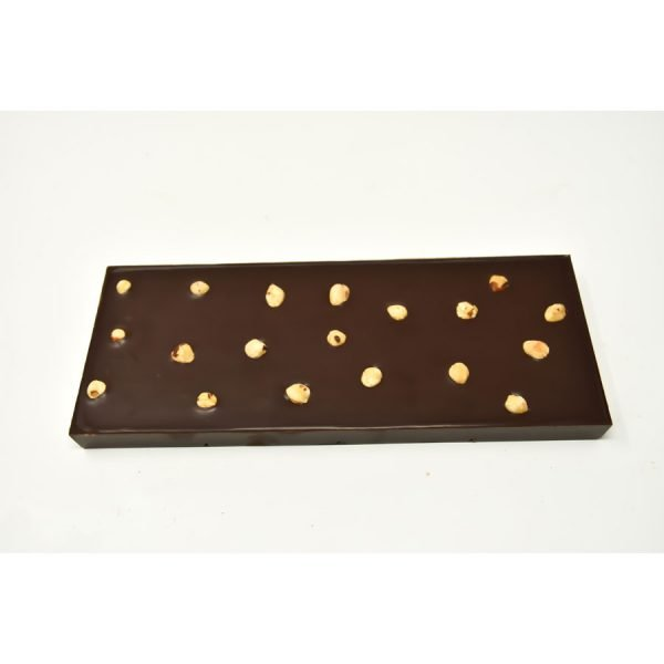 Durig Chocolatier Lausanne - Giant organic dark chocoalte bar with almonds