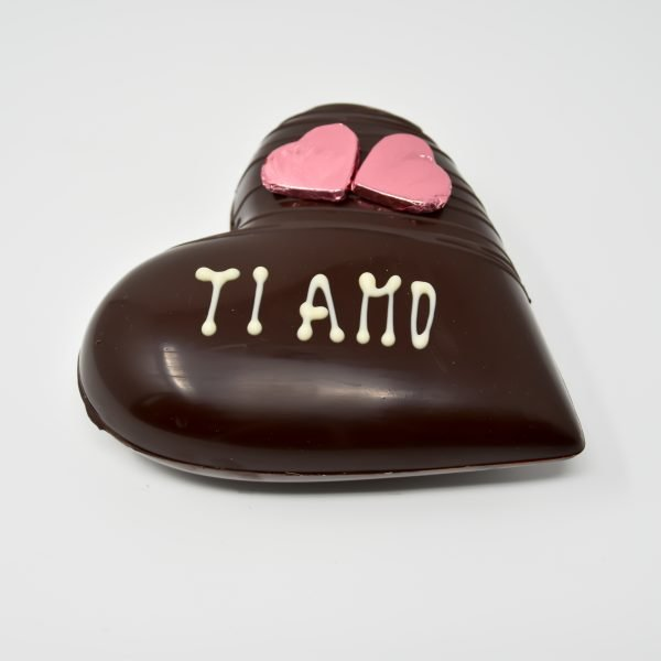 Durig Chocolatier Lausanne: Ti Amo - Coeur en chocolat bio