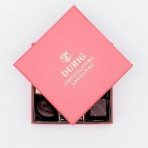 Durig Chocolatier - Boite de chocolats suisses bio