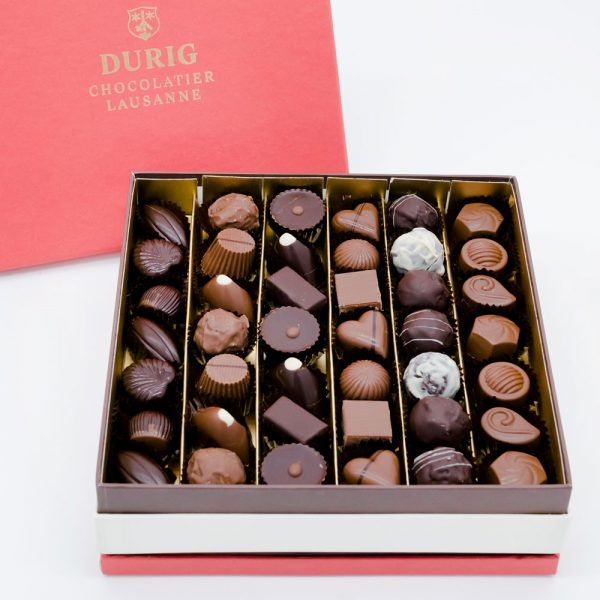 DURIG Chocolatier - Boîtes de chocolats bio suisse