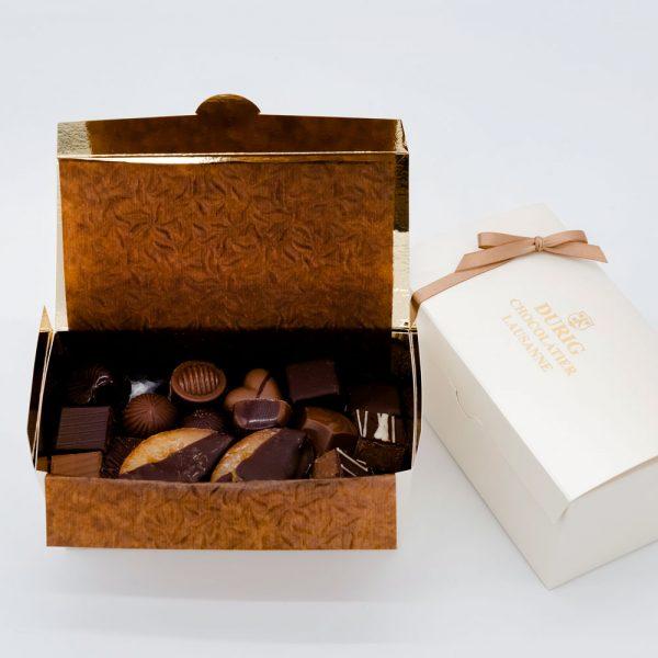 DURIG Chocolatier - Swiss organic chocolate box