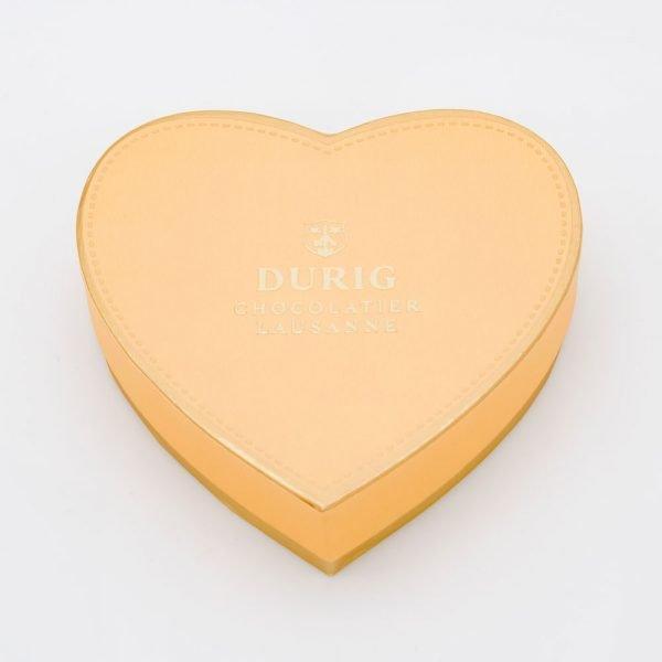 DURIG Chocolatier - Swiss organic chocolate heart box