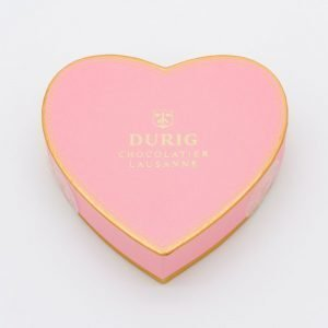 DURIG Chocolatier - Swiss organic chocolate heart box