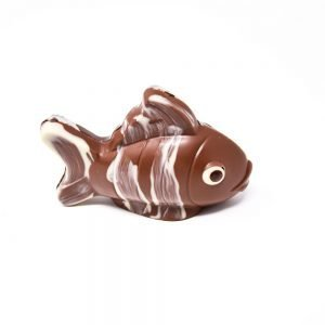 Durig Chocolatier Lausanne - Organic milk chocolate fish