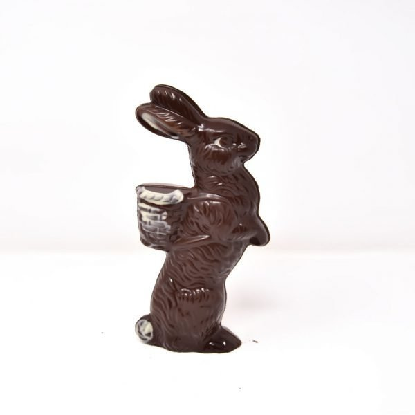 Durig Chocolatier Lausanne - Organic dark chocolate rabbit