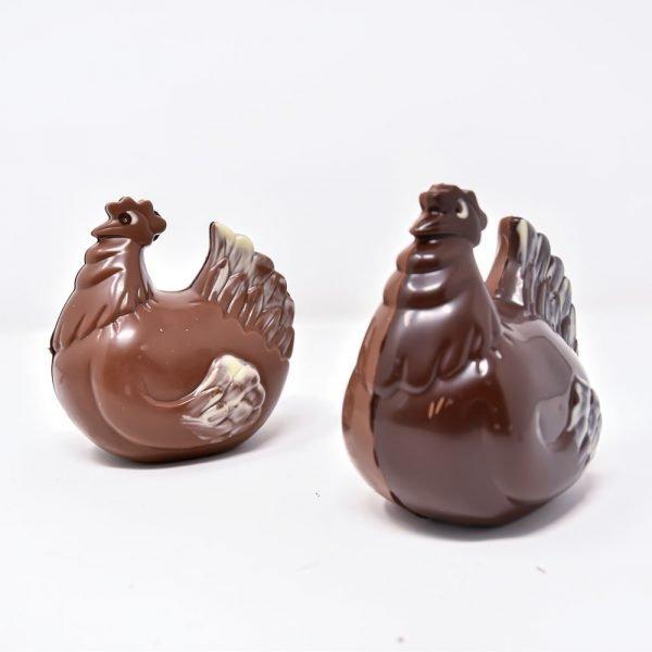 Durig Chocolatier - Poule en chocolat bio et équitable
